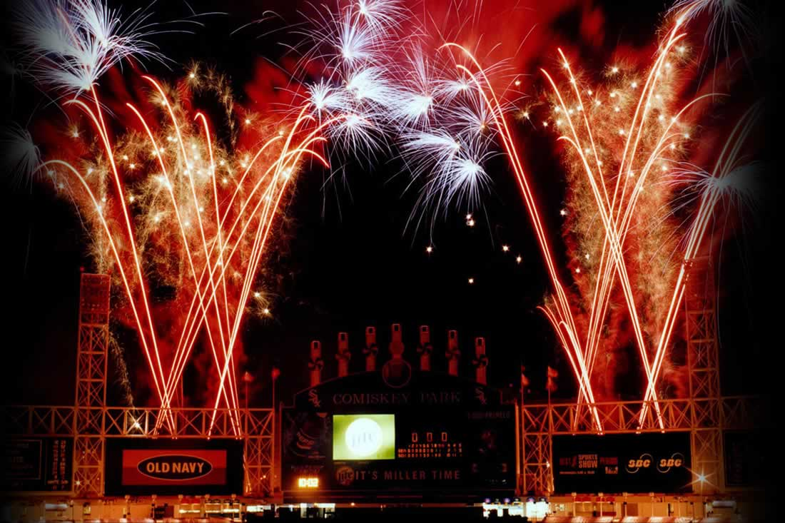 Fireworks Displays for Sports Venues